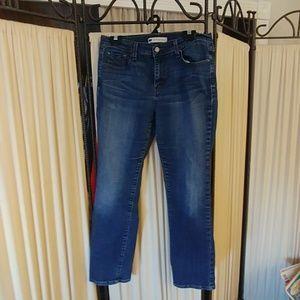 Womans Levis 505 Straight Leg Size 10